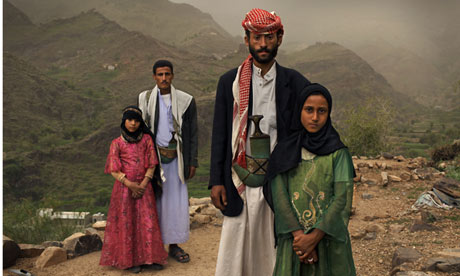 Stephanie Sinclair's photograph of child brides in Yemen